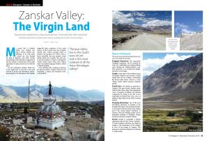 Zanskar Valley: TLF Magazine (Nov-Dec'14)