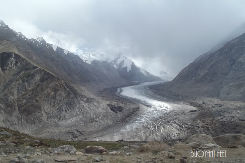 Mighty Drang Drung Glacier onway to Padum