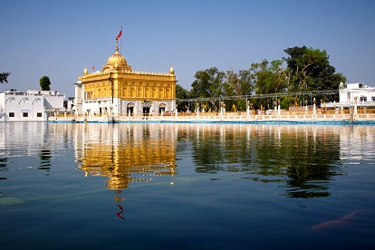 A look alike of Golden Temple in Amritsar