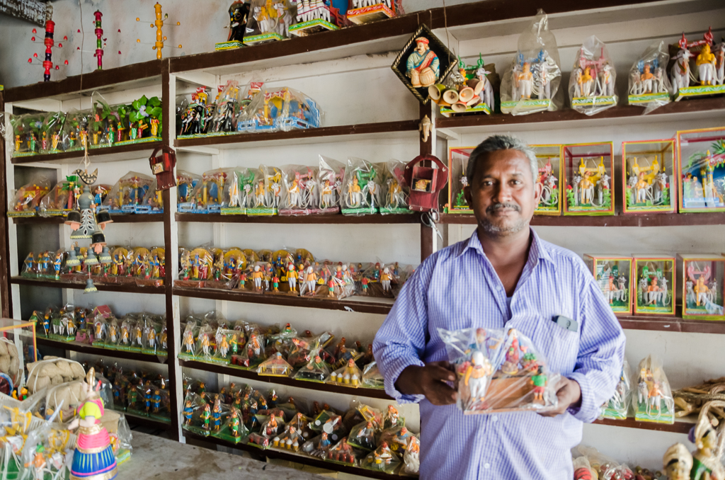 There were wooden toys in all shapes and sizes on display at Kondapalli toy village, which has been in existence for over 100 years now