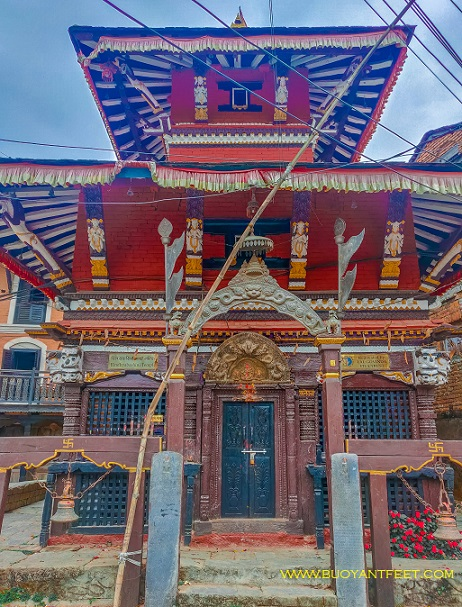 The local temples inside the main town of Bandipur