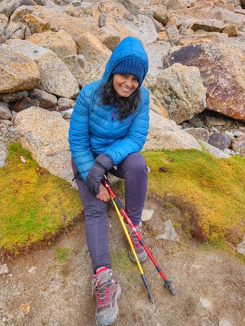 A long tiring day on the second day of Mount Kailash Parikrama during Kailash Mansarovar Yatra