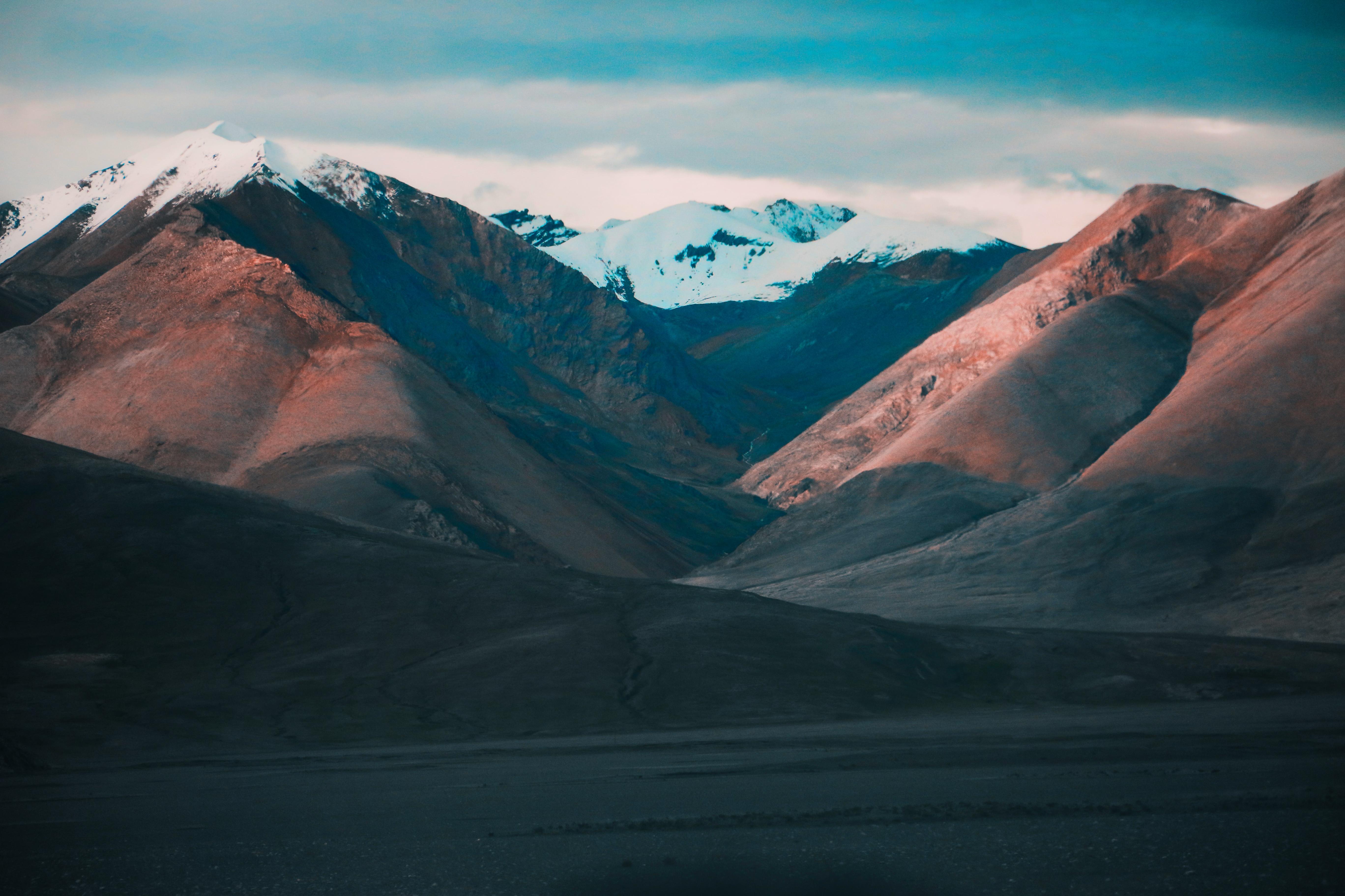 The Beautiful Terrain of Tibet during Kailash Mansarovar Yatra