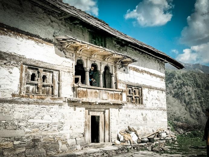 The local homestays at Raithal Village