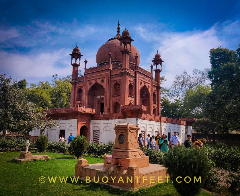 Roman Catholic cemetery in Agra is the oldest burial ground of the city. The place is famous for the Red Taj Mahal