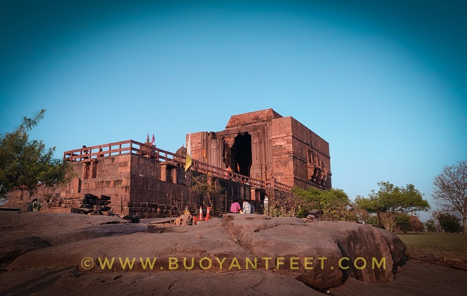 The First View of Bhojeshwar Lord Shiva Temple from the entrance