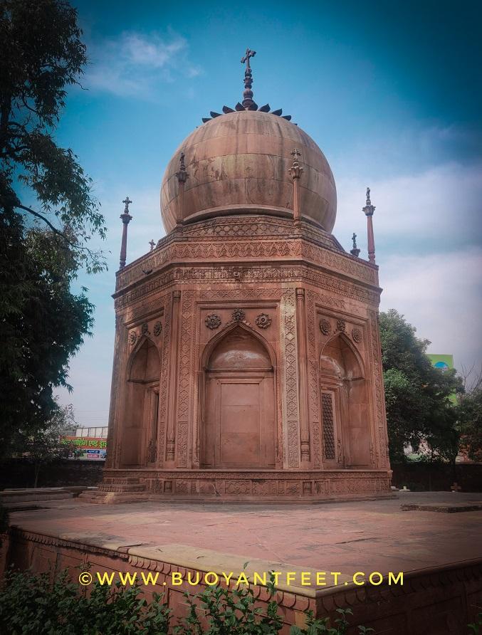 The Ellis Family Tomb inside Agra's Roman Catholic Cemetery