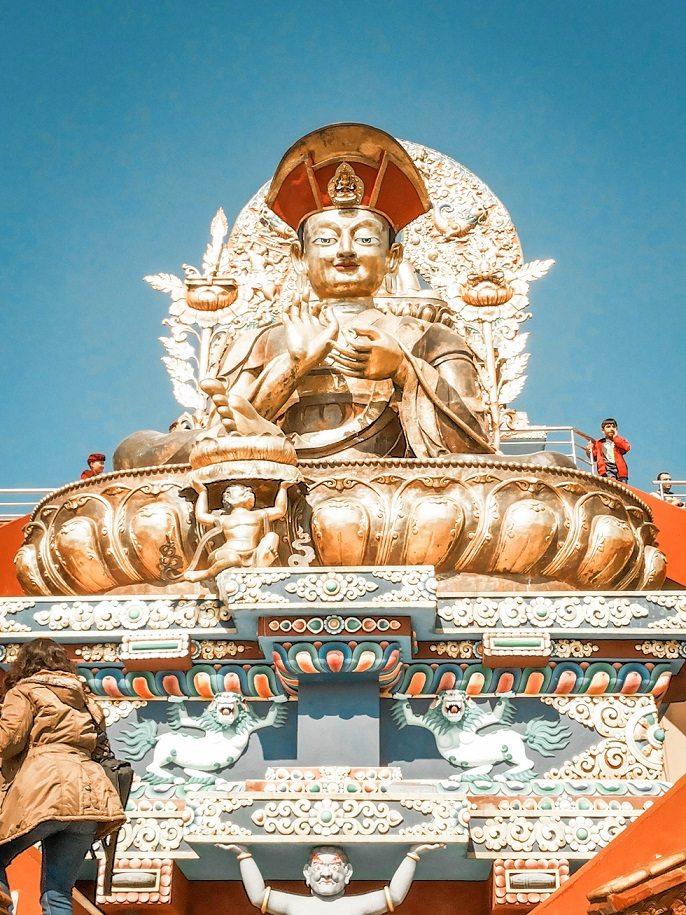 Druk Amitabha Nunnery in Kathmandu is entirely run by the nuns of Drukpa Lineage clan. They are famously known as the Kung Fu Nuns