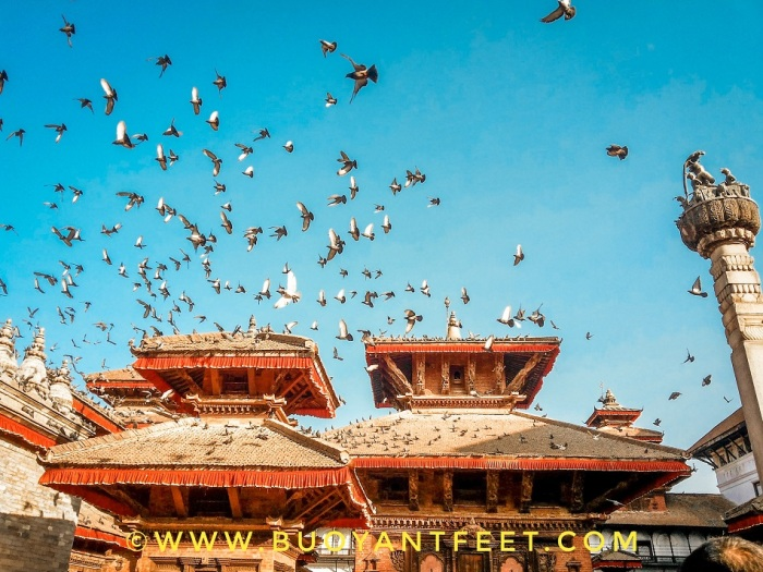 Basantapur Durbar Square of Kathmandu Valley as I clicked this in 2013, during my first visit to the Kathmandu city of Nepal