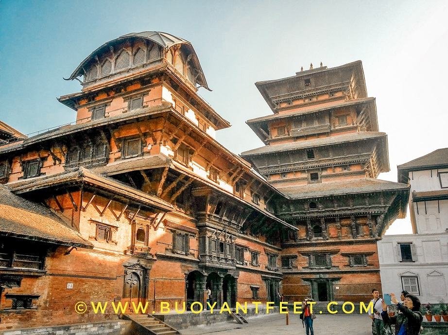 Kathmandu city of Nepal is a living museum preserving the fine architecture of both: the local community of Newari people and Buddhism