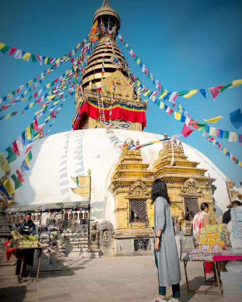 The Monkey temple is one of the ancient religious sites within the Kathmandu City of Nepal