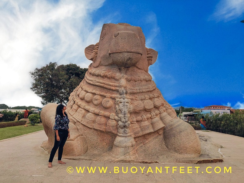 Lepakshi village is famous for its Veerbhadra Temple & A giant Nandi Bull carved out of a single rock. Veerbhadra is an angry form of Lord Shiva