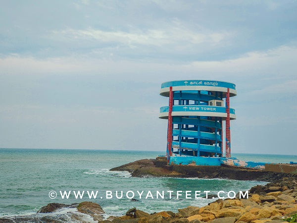 View tower of Kanyakumari